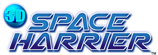 Logo 3D Space Harrier